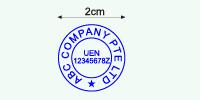 Rubber Stamp Artwork Sample 1
